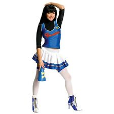 Lady Veronica SEXY CHEERLEADER Costume + Black Wig Adult Medium 6 8 10 Archie