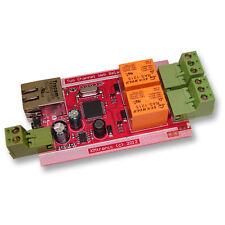 KMTronic LAN 2-fach Netzwerk Relais Carte ( Internet Ethernet IP relaisplatine )