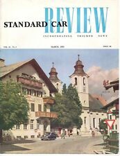 Standard Voiture Review incorporant Triumph News VOL.15 No.3 mars 1953 Magazine