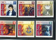 Isle of Man-Harry Potter & the Goblet of Fire set of 6 mnh