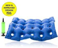 FDA Medical Wheelchair Air Cushion Inflatable Seat Mattress Anti Hip Bedsore NEW