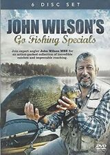 John Wilson's Go Fishing Specials 6 DVD BOXSET