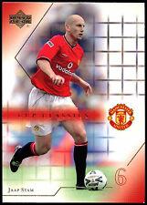 Jaap Stam Manchester United #81 Upper Deck 2001 Football Trade Card (C361)