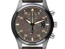 IWC Pilot´s Watch Top Gun Miramar Keramik Black Titan Automatik Chronograph Armb