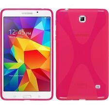 Funda de silicona Samsung Galaxy Tab 4 7.0 X-Style rosa caldo