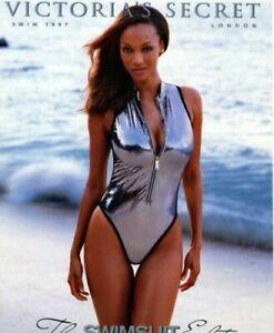 Speedo Vintage Women's sparkling Silver One Piece Swimsuit 10