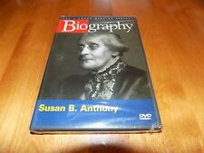 SUSAN B ANTHONY BIOGRAPHY A&E History Biographical Documentary DVD NEW