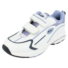 Girls CHILL OUT  white/navy/lilac trainers by CICA UK 12.5 G FITTING £19.99