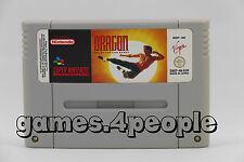 Dragon The Bruce Lee - Karate Action für den Super Nintendo / SNES
