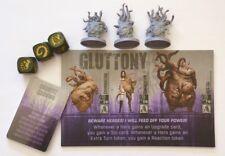 The Others: 7 Sins Gluttony Erweiterung / Expansion Spiel Miniaturen teilweise