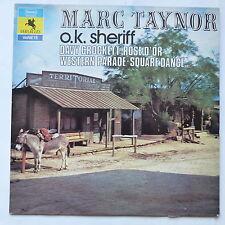 Country Western MARC TAYNOR OK Sheriff Davy Crockett  VER 34006