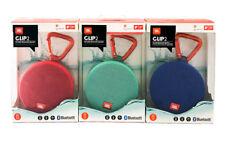 JBL Clip 2 Waterproof Portable Bluetooth Speaker - Blue, Red, Teal