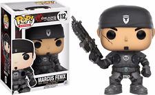 Marcus Fenix Gears of War Pop! Games Funko NIB new in box 112