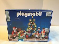PLAYMOBIL Christmas Room Set 3931- Light Tree, Santa, Toys NIB Factory Sealed