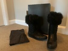 Gucci  Black Winter Snow Boots