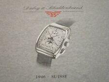 DUBEY & SCHALDENBRAND DS 1946 SUISSE VINTAGE T-SHIRT- XL RARE SWISS WATCH HTF