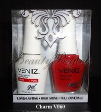 VENIIZ Soak Off Gel Polish Charm V060 full size 15mL LED/UV matching gel duo