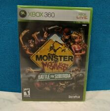 Monster Madness: Battle for Suburbia (Microsoft Xbox 360, 2007) Factory Sealed
