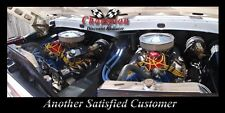 1968 1969 1970 1971 1972 1973 1974 Ford F-100 Pickup 3 Row DR Radiator