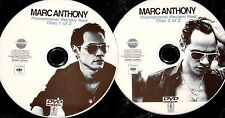 MARC ANTHONY Promotional Review Music Video Reel 2 DVD Set 29 Videos (Not a  CD)