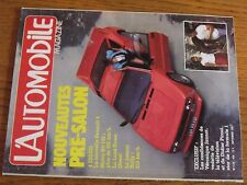 $$$ Revue L'automobile N°435 Renault 4Matra Kit 142Lancia RallyV Jannot