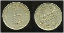 COLOMBIE 50 pesos 1988