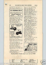 1952 PAPER AD Ambidex Charles Orvis Fishing Reel