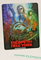 ESCAPE FROM NEW YORK - 3D LENTICULAR Flip Magnet Cover TO FIT bluray steelbook