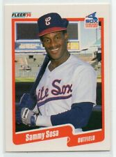 1990 Fleer Sammy Sosa Rookie Card RC White Sox #548 NM/MT