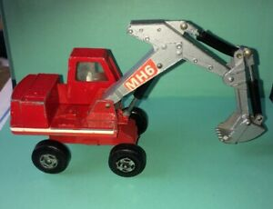 Matchbox 1970's Excavator-14 Digger Kingsize Diecast Nice Clean Used See Photos