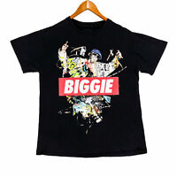 Notorious BIG Biggie Smalls Men's Black Hip Hop Rap T-Shirt - Size Medium