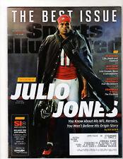 SPORTS ILLUSTRATED - Nov 27, 2017 - JULIO JONES Cover - Falcons, NFL, PORZINGIS