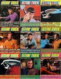 Nine Star Trek TOS Giant Poster Books | Voyage 3-5-6-7-8-9-10-11-12  | 1976-1977