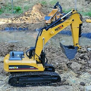HUINA 1580 2.4G 1:14 Scale RC Construction Truck RC Excavator Full Metal INSTOCK