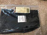 Longaberger Black Bagel Basket Liner - New in Bag!