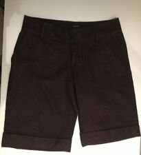Cotton Blend Mid-Rise Hand-wash Only Shorts for Women