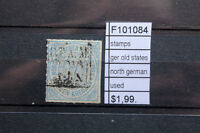 STAMPS OLD STATES GERMANY NORTH GERMANY USED (F101084)