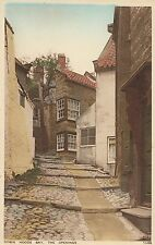 Yorkshire Postcard - Robin Hoods Bay - The Openings   A2642