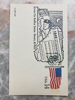 Accountant Nostalgia Gift 1988 Income Tax Deadline Station Cancel Cover 14 Cent