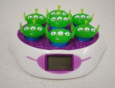 Toy Story Clock (by Disney) (Aliens on top) pre-owned (works)