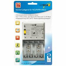 Akku Ladegeräte für den Haushalt 9 V Block | eBay