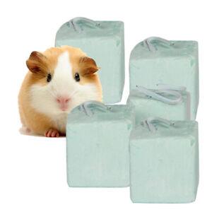 5Pcs Hamster Rabbit Rat Guinea-pig Calcium Mineral Chew Cube Teeth Grinding Toys