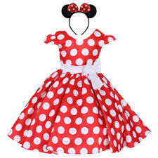 Minnie Mickey Mouse Dress 2PCS Clothes Outfits for Baby Kid Girls Cake Smash