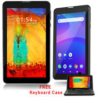 """7"""" Android 9.0 Pie Tablet Smart Phone WiFi Bluetooth Free Keyboard Case Bundled"""