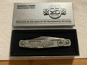 A.J. Foyt 25 years at Indy Commemorative Knife