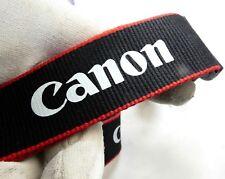 Canon camera Neck Strap Red Black  EOS Genuine OEM -  Free Shipping USA