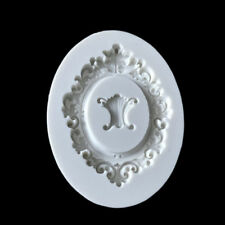 Lace Flower Frame Cake Topper Mould Mat Sugarcraft Icing Soap Baking Mold Cutter