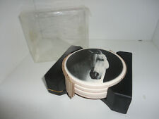 Horse Coasters Set New! Barware