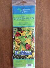 Hummingbird Haven Ladybug Small Garden Flag 12 X 18