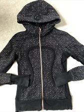 New listing Lululemon Scuba Hoodie - XS - Black & Gold Fleck - Yoga, Gym, Relax Top RRP£100